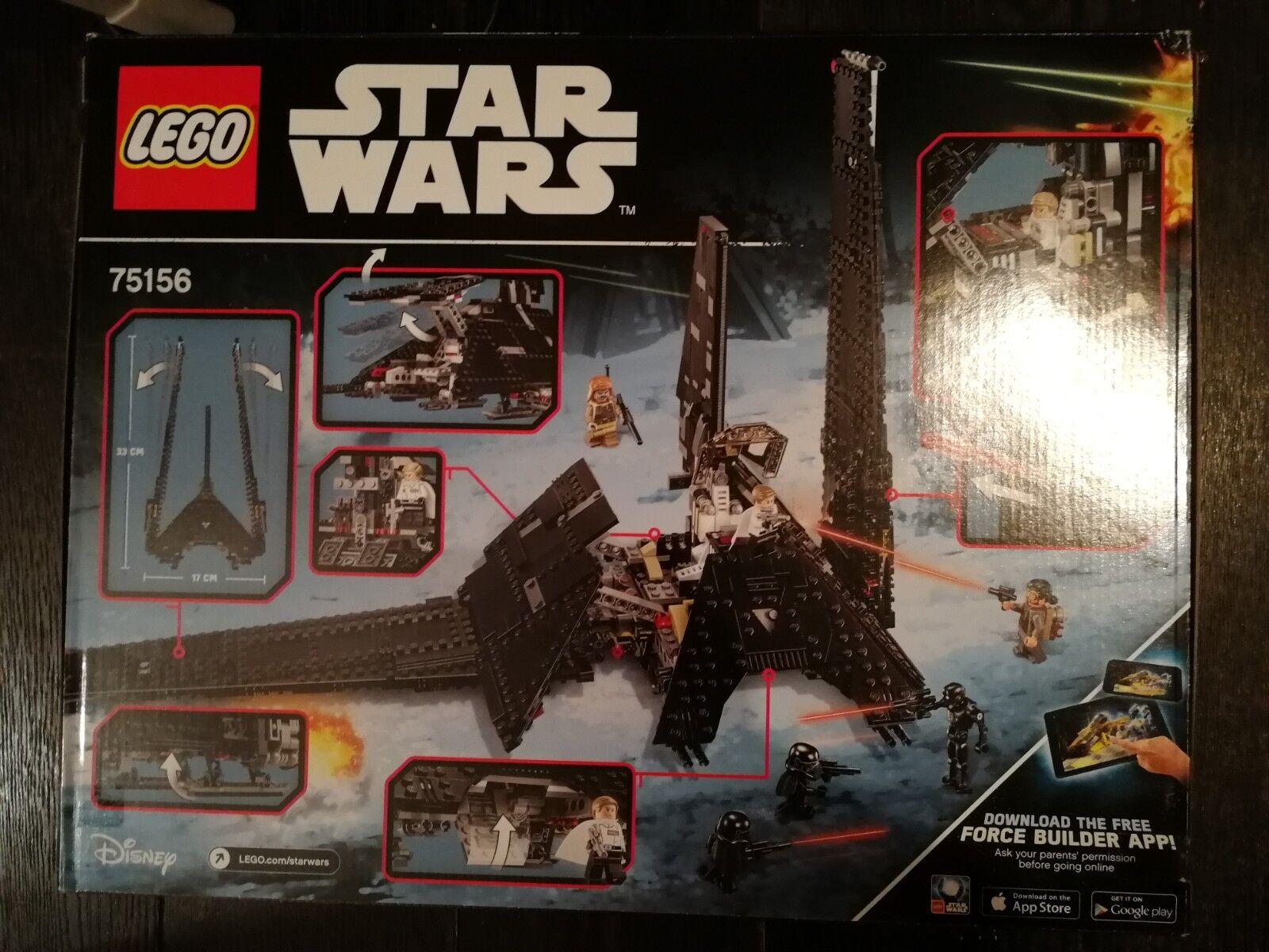 Lego Star Wars 75156 - Set Costruzioni Shuttle Imperiale di Krennic - NUOVO