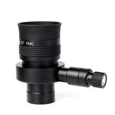 "Telescope Illuminated Eyepiece1.25"" FMC 70 Degree Wide Angle 20mm w/ Reticle"