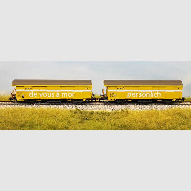 Set di due carri postali delle SBB - Art. Roco 67183