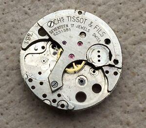 Tissot-781-Filser-Creche-Ne-Fonctionne-X-Parts-Vintage-Montre-Manual-Winding