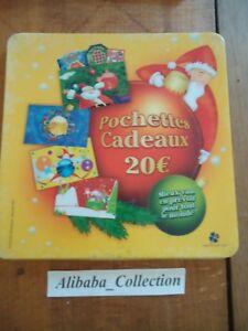 Publicidad-Recuperador-Moneda-Fdj-Francesa-de-Juegos-Ticket-Gatos-Bolsitas-Noel