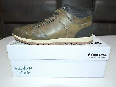 Sonoma Goods For Life Collin Mens Sizes 10.5 11 12 Wide Shoes Sneakers$74 New