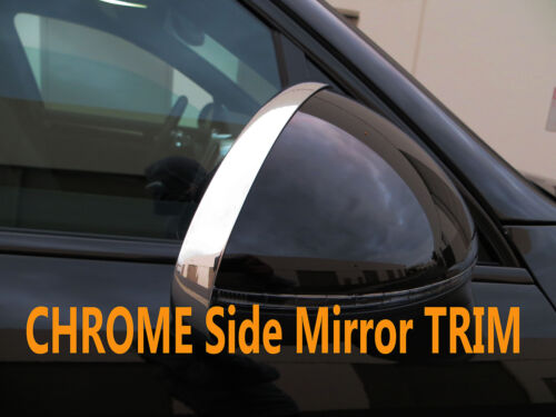 NEW Chrome Side Mirror Trim Molding Accent for audi08-13