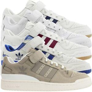 Détails sur Adidas Forum Lo Messieurs Low top Baskets Chaussures De Loisirs Cuir Baskets Neuf afficher le titre d'origine