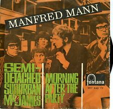MANFRED MANN SEMI DETACHED SUBURBAN MR JAMES MORNING AFTER THE PARTY VG VG