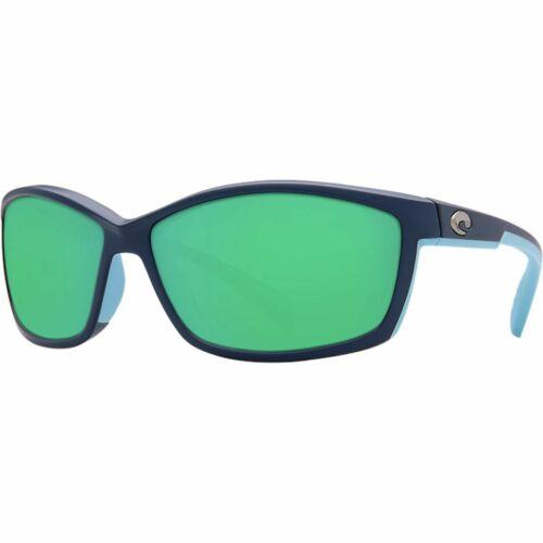 Costa Manta 580G Polarized Sunglasses Women/'s Matte Heron Green Mirror 580g