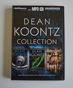 Dean-Koontz-Collection-The-Moonlit-Mind-Darkness-Under-the-Sun-Demon-Seed