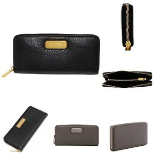 NWT-MARC-JACOBS-Leather-Zip-Around-Wallet-198-VARIOUS-STYLES