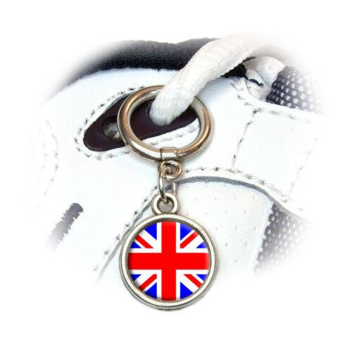 Britain British Flag Shoe Sneaker Shoelace Charm Decoration Union Jack