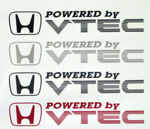 X2-propulse-par-VTEC-d-039-autocollants-stickers-pour-civic-crx-integra