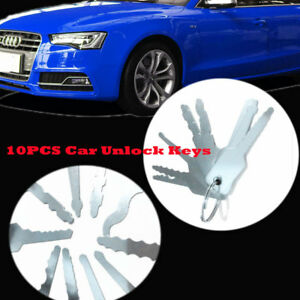 Lock Out Kit For Cars >> Details About 10pcs Universal Car Auto Lock Out Emergency Kit Door Open Tool Keys Kit