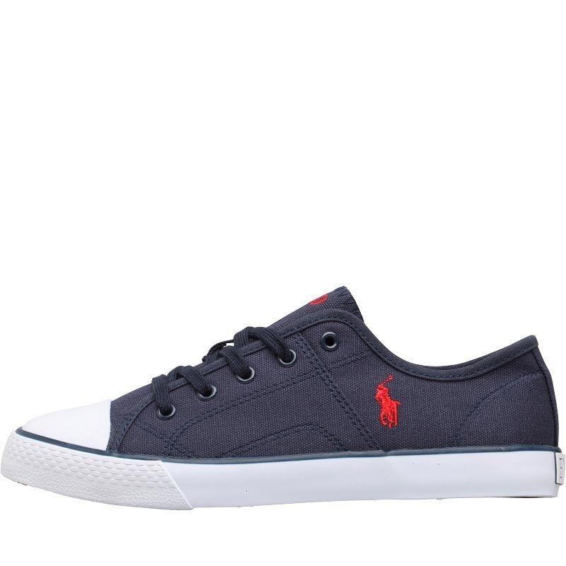 POLO RALPH LAUREN NUOVE scarpe da ginnastica Per Navy Ragazzi Misura & 6.5 Navy Per 28e661