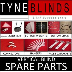 SPARE-PARTS-for-vertical-blinds-amp-headrails-Weights-Chain-Hanger-Brackets