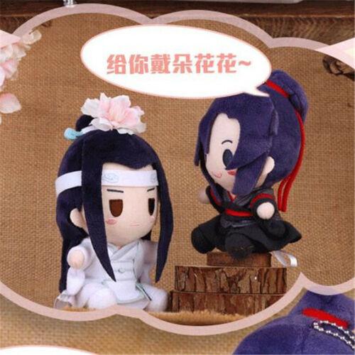 Anime Mo Dao Zu Shi Cosplay Wei Wuxian Lan Wangji Plush Doll Soft Toys Pendant