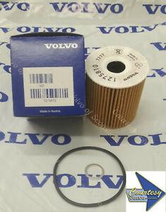 GENUINE VOLVO Factory OEM Oil Filter w/Gasket 1275810