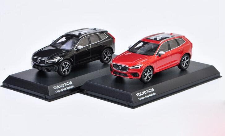 los clientes primero Kyosho 1 43 43 43 Modelo de Coche diecasting de Aleación Volvo XC60 gris y rojo de la colección de regalo  están haciendo actividades de descuento