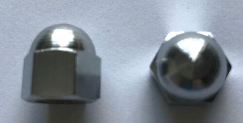 SILVER CROSS COACH BUILT DOLLS PRAM Spares parts HANDLE NUT x 2 Oberon Models