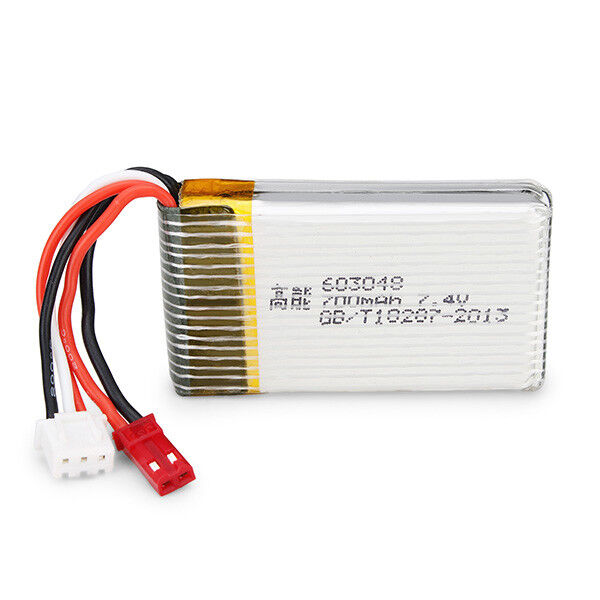 MJX X600 X601H RC Hexacopter Spare Parts 7.4V 1000mAh 25C Upgrade Battery