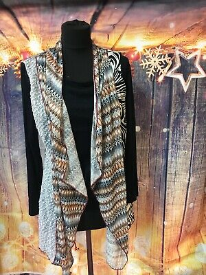 New Womens Ladies Loose knit boyfriend style lounge//slouch cardigan Sizes 8-14