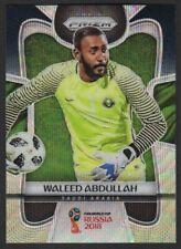 2018 Panini Prizm World Cup Black and Gold Wave Waleed Abdullah #177