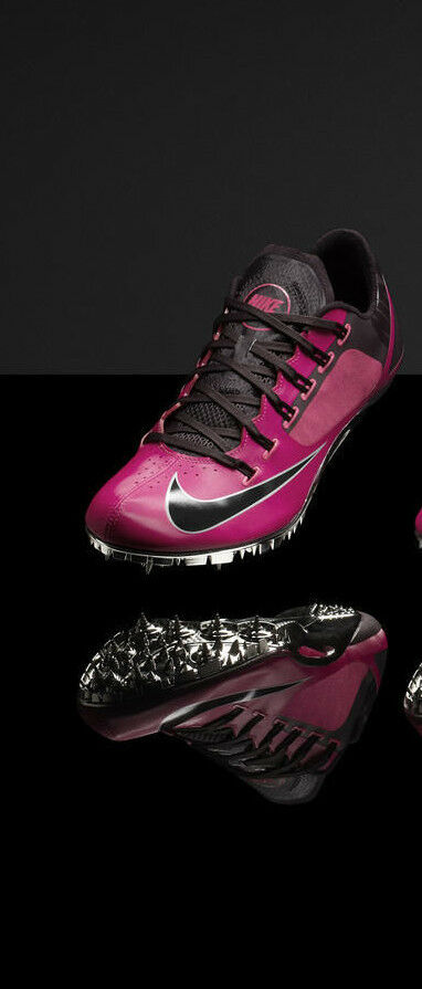 Nike Zoom Superfly R4 Track & Field Spikes 526626 Gamma Blue Pink Foil
