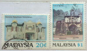 Malaysia Used Stamp - 2 pcs 2000 Census of Planning in The Millennium