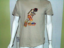 Cartagena Colombia Cultra Y Tradicion Beige Short Sleeve T-Shirt Large Men's
