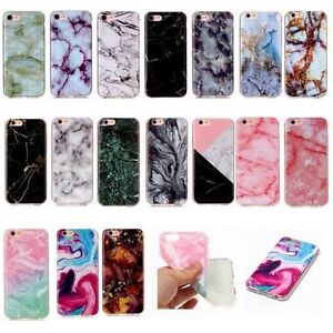 Granite-Marble-Matte-Silicone-TPU-Soft-Case-Cover-For-iPod-Touch-5th-6th-XS-MAX
