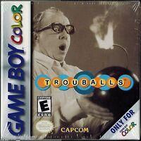 Trouballs (nintendo Game Boy Color, 2001) Factory Sealed