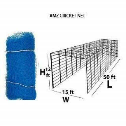 10Ft30 ft Standard Covering Cricket net for Practice//Training