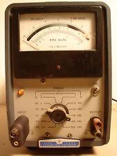 Vintage Industrial Hp Model 400l Vacuum Tube Voltmeter