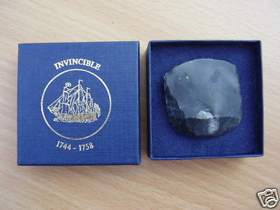 Flintlock Double Musket Balls from 1758  HMS Invincible ShipWreck