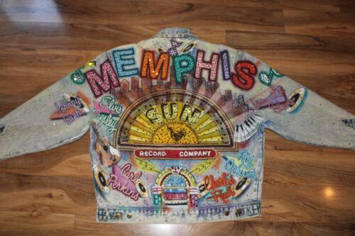 RARE Vintage Tony Alamo Denim Jacket - MEMPHIS - S