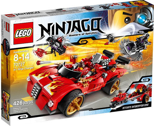 LEGO Ninjago 70727 X-1 Ninja Charger Set nouveau In Box  Sealed  70727  jusqu'à 42% de réduction