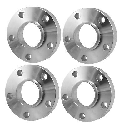 4pcs 5mm wheel spacers 5x120 bolt pattern for BMW bore 72.5//Forged 6061T6 black