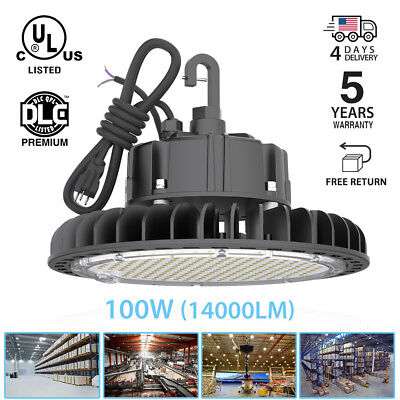 250W 5000K UFO LED High Bay Warehouse Lights fixture Lamp factory shop lighting