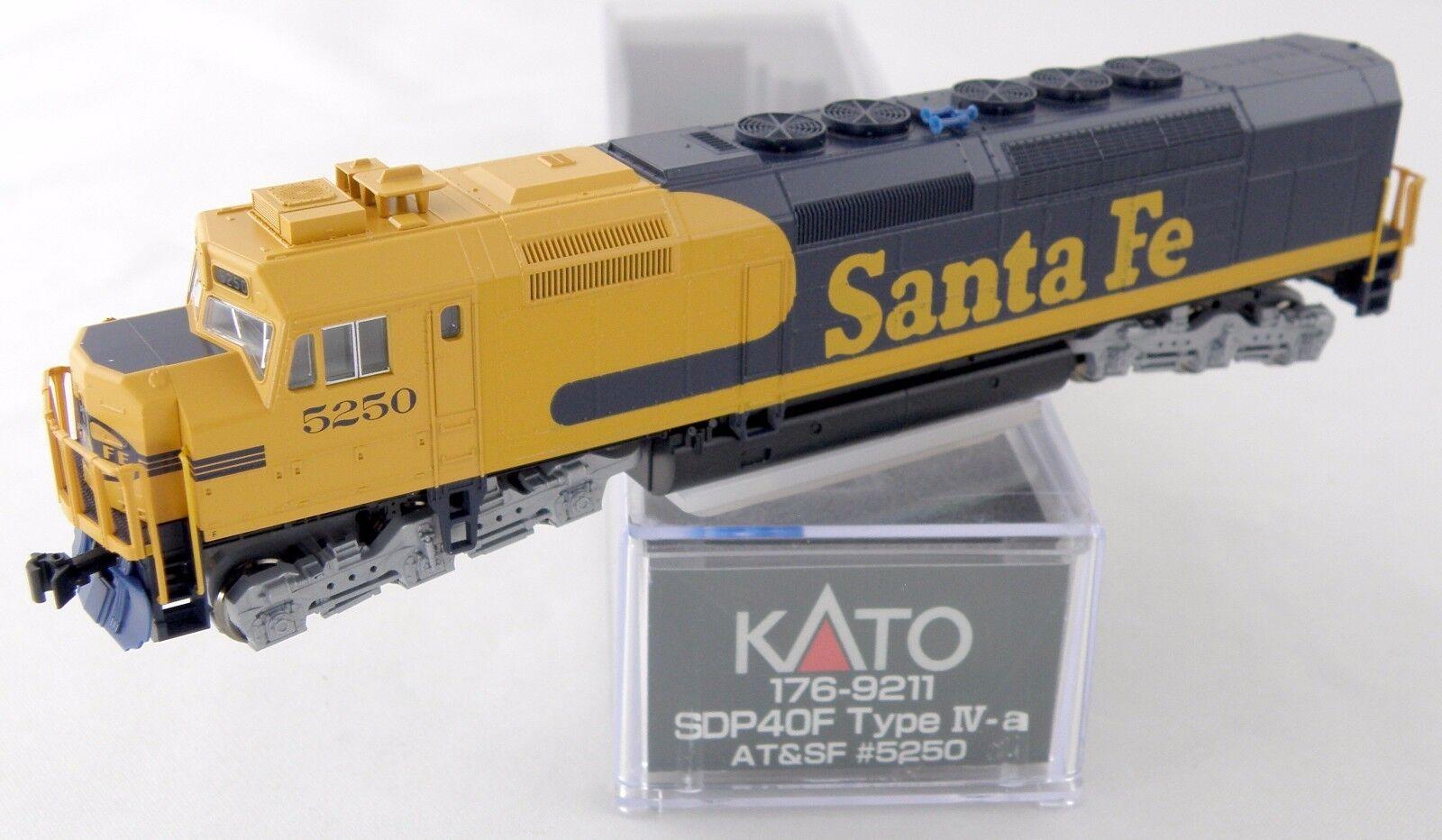 Escala N Locomotora Emd SDP40F (tipo IVA cuerpo) - AT&SF  5250 - Kato  176-9211