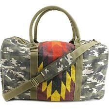 Tigerbear Republik Zebra Women Red Duffel Bag NWT