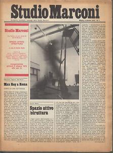 Studio Marconi 9 Ottobre1975 n.1 Man Ray Paolini Jarry Nevelson Barilli Accame
