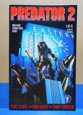 PREDATOR 2 #2 of 2 1991 Dark Horse Uncertified WITH CARDS 1st Print