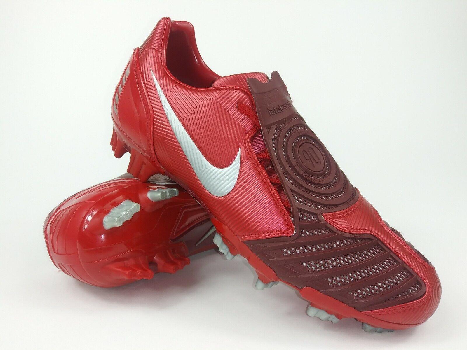 Nike Hombre Raro Total90 Huelga II Fg Fútbol Tacos 318792-606 Rojo Talla US 10.5