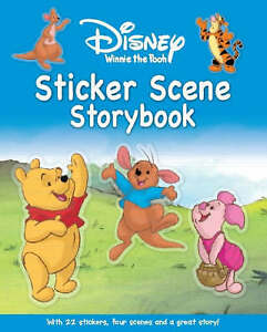 Disney-034-Winnie-the-Pooh-034-Make-a-Scene-Storybook-Disney-Make-a-Scene-Storybook-S