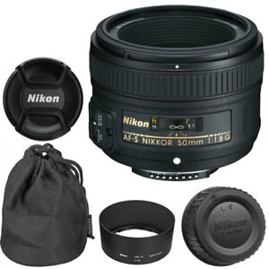 NEW-Nikon-50mm-f-1-8G-AF-S-NIKKOR-Lens-for-Nikon-DSLR-Cameras