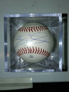 BRANDON SNYDER BRAVES/ORIOLES/RED SOX SIGNED AUTOGRAPHED New York Penn League