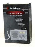 Radio Shack Am/fm/shortwave Travel Radio Compact Prepper Emergency Survival