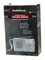 Radio Shack Am/fm/shortwave Travel Radio Compact Prepper Emergency Survival