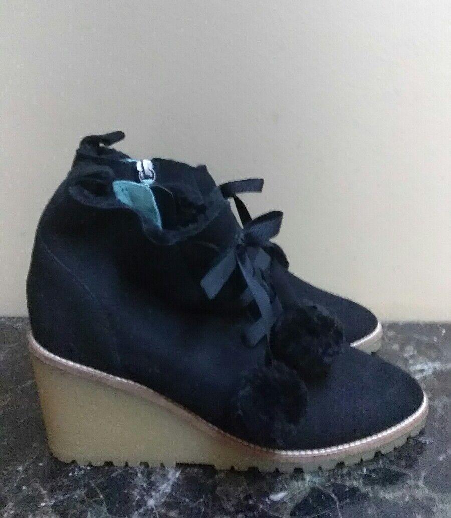 Boden 39 Negro Gamuza Botines Zapatos botas al al al tobillo  punto de venta en línea