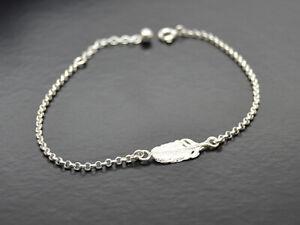 Feder-Armband-925er-Silber-Symbol-Schmuck-NEU