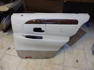 1998 1999 2000 2001 2002 lincoln town car right rear door panel. Black Bedroom Furniture Sets. Home Design Ideas