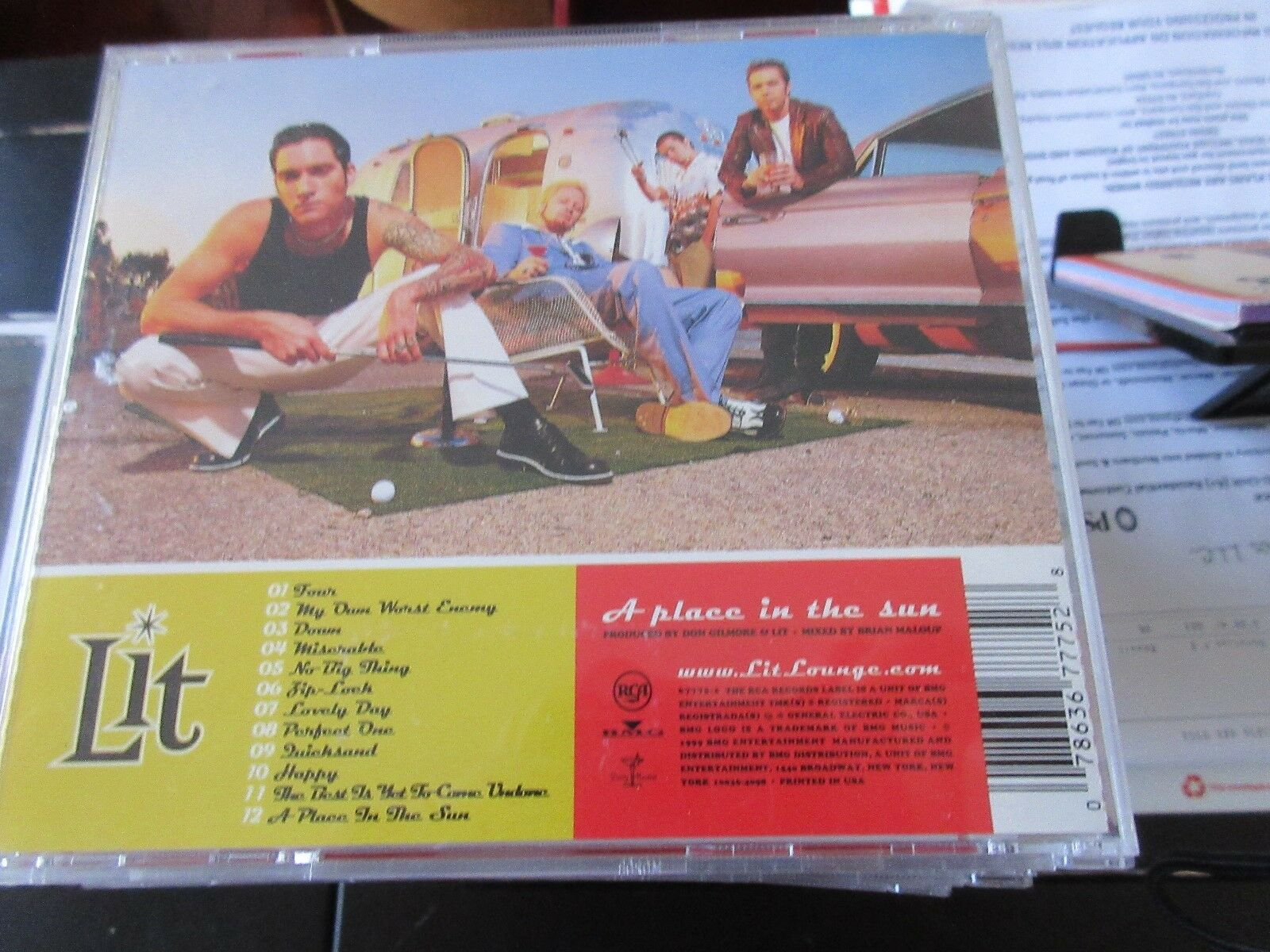 LIT , A Pleasure In The Sun , CD